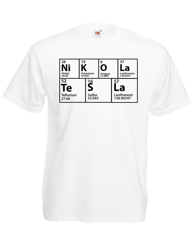 The big bang theory inspired periodic table nikola tesla t shirt the big bang theory inspired periodic table nikola gamestrikefo Gallery