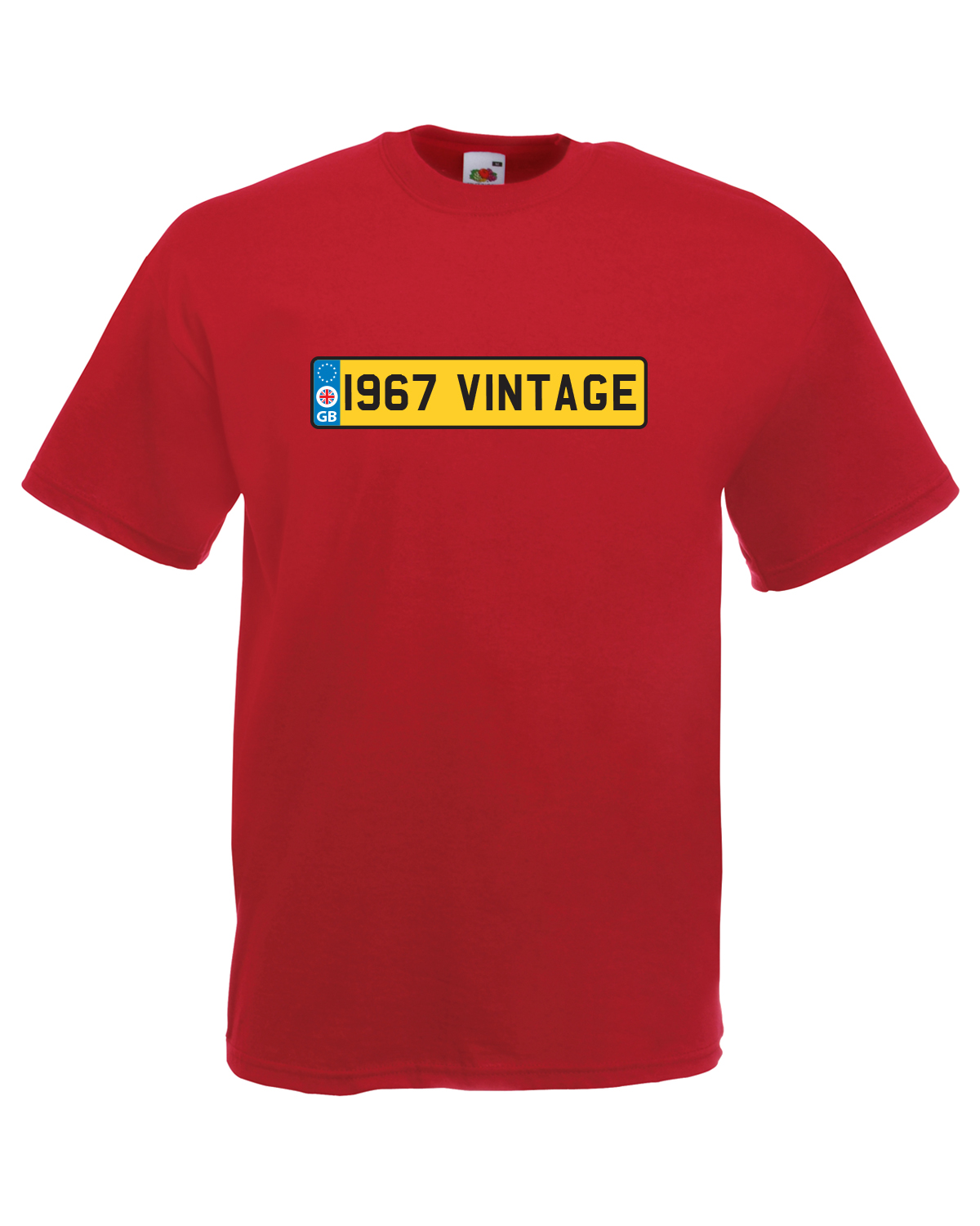 39 i967 vintage 39 number plate car graphic design quality t for Graphic design t shirts uk