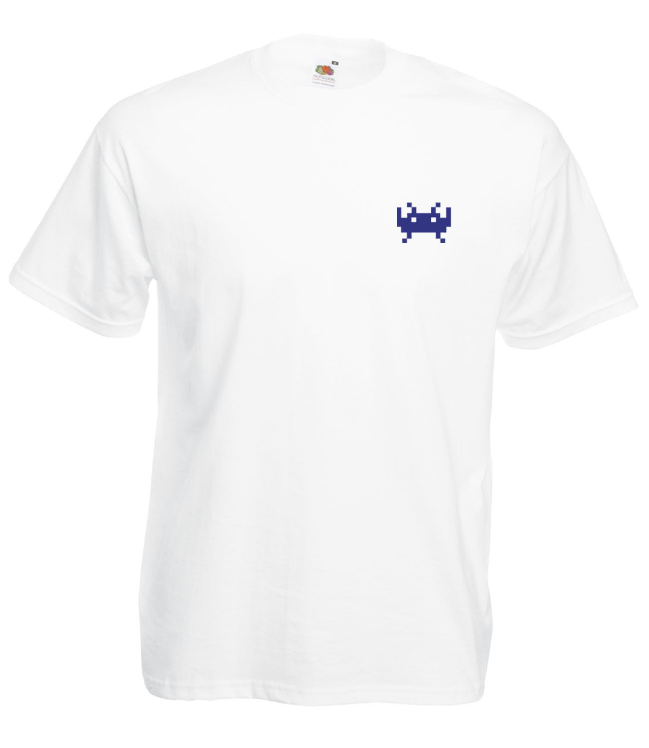 SPACE-INVADERS-INSPIRED-STYLE-GRAPHIC-HIGH-QUALITY-SHORT-SLEEVED-T-SHIRT