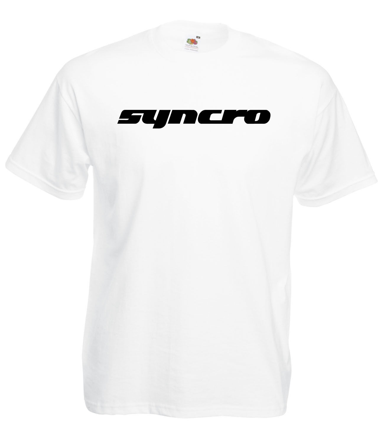 Vw volkswagen camper graphic syncro 4wd high quality 100 for Good quality cotton t shirts