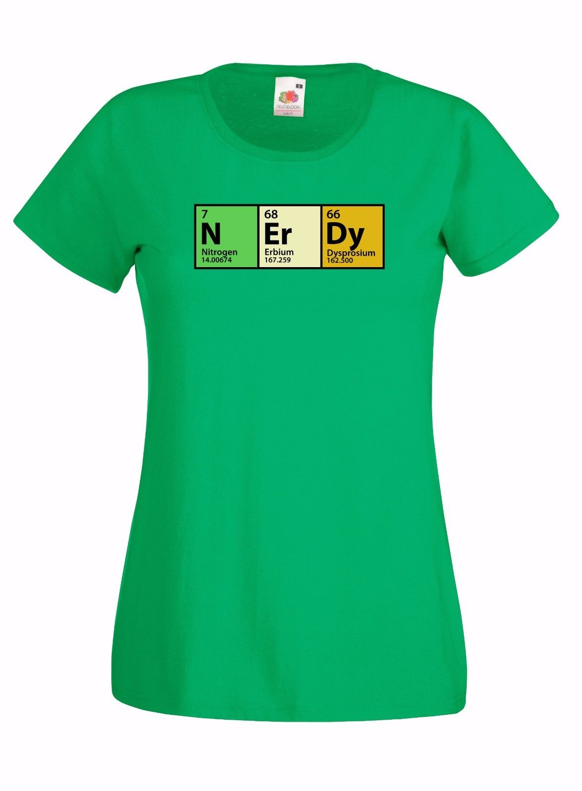 The Big Bang Theory Nerdy Periodic Table Graphic Skinny High