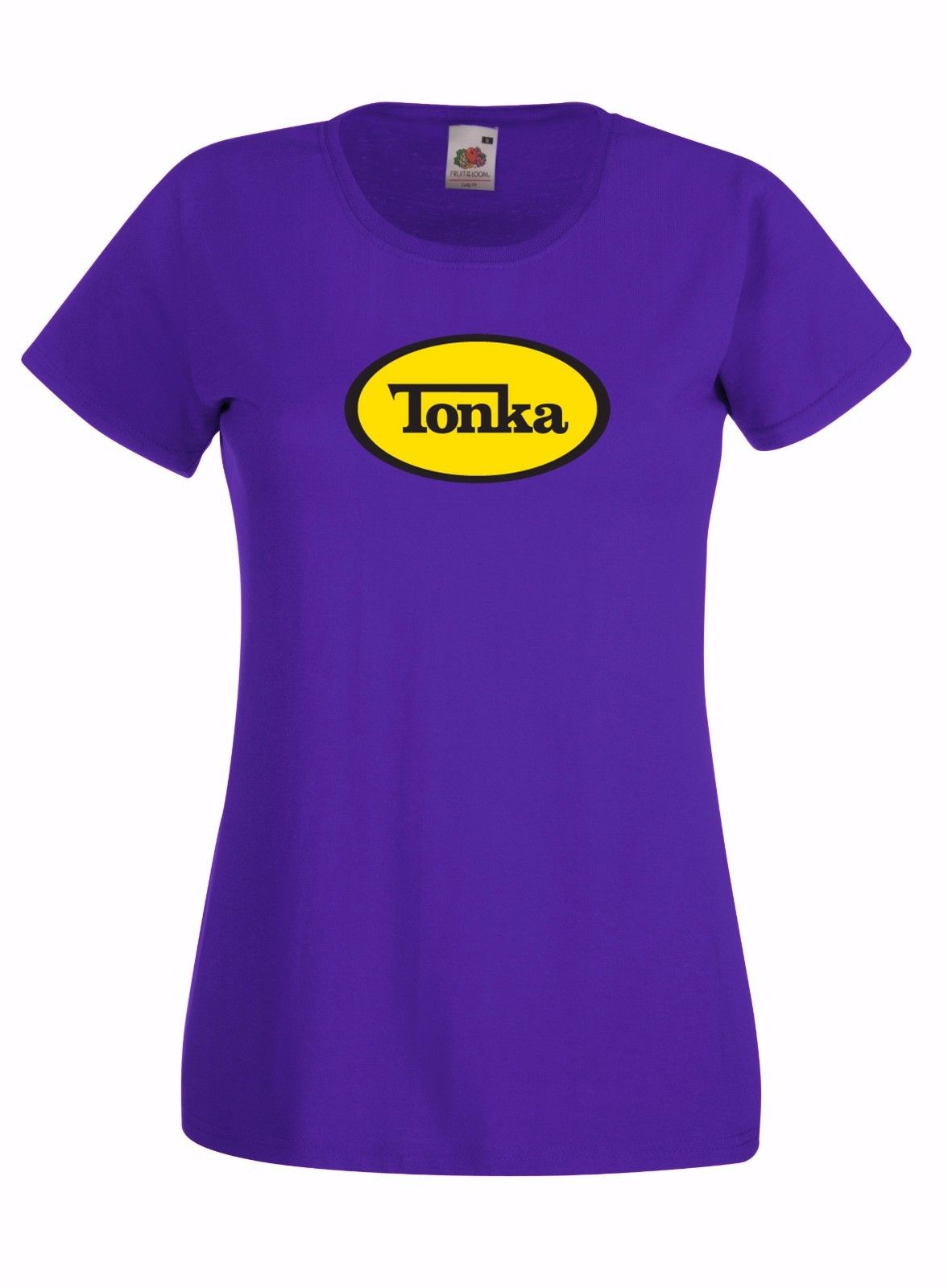 Tonka inspired style graphic high quality ladies skinny for Good quality cotton t shirts