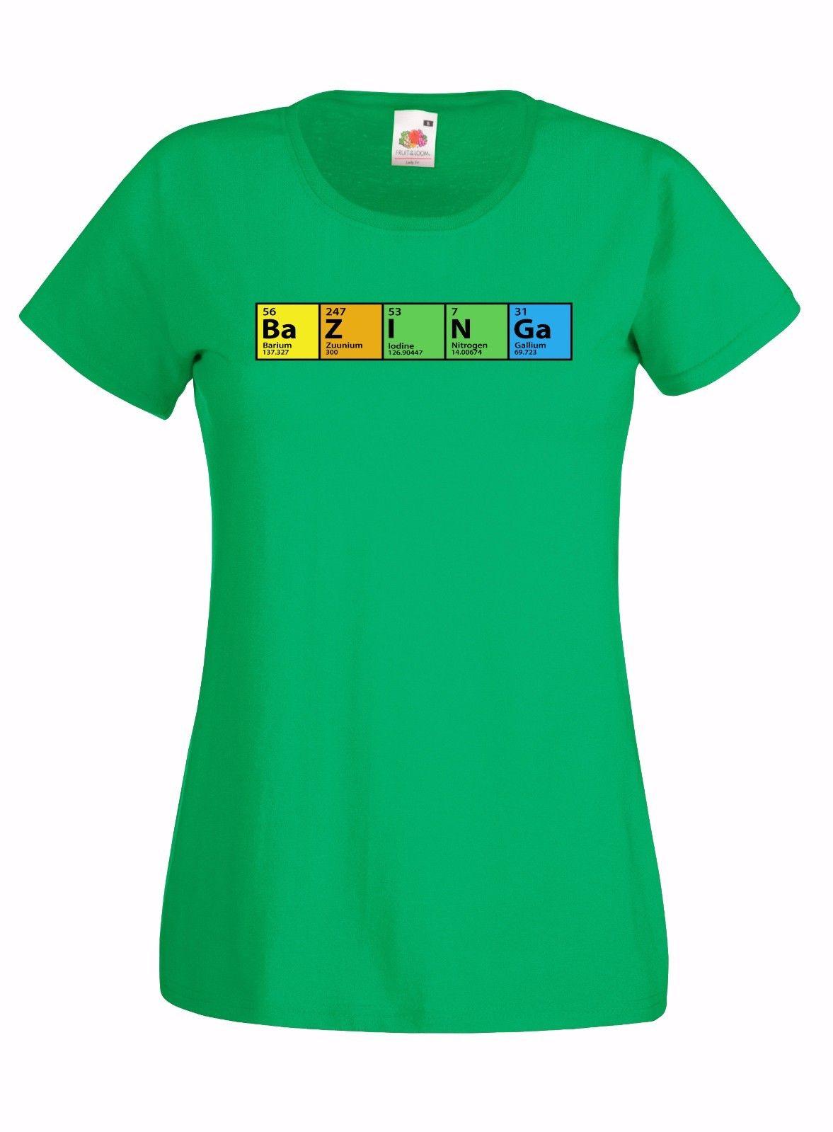 The Big Bang Theory Bazinga Periodic Table Graphic Skinny
