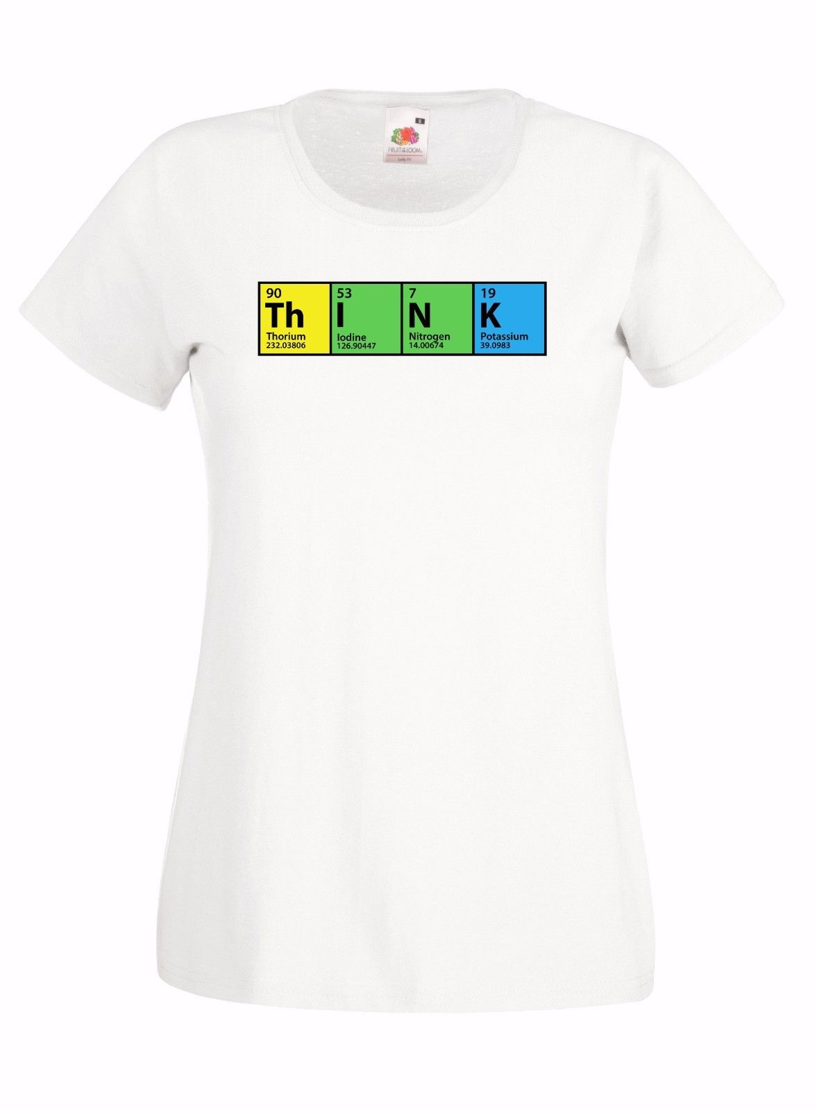 The Big Bang Theory Think Periodic Table Graphic Skinny High