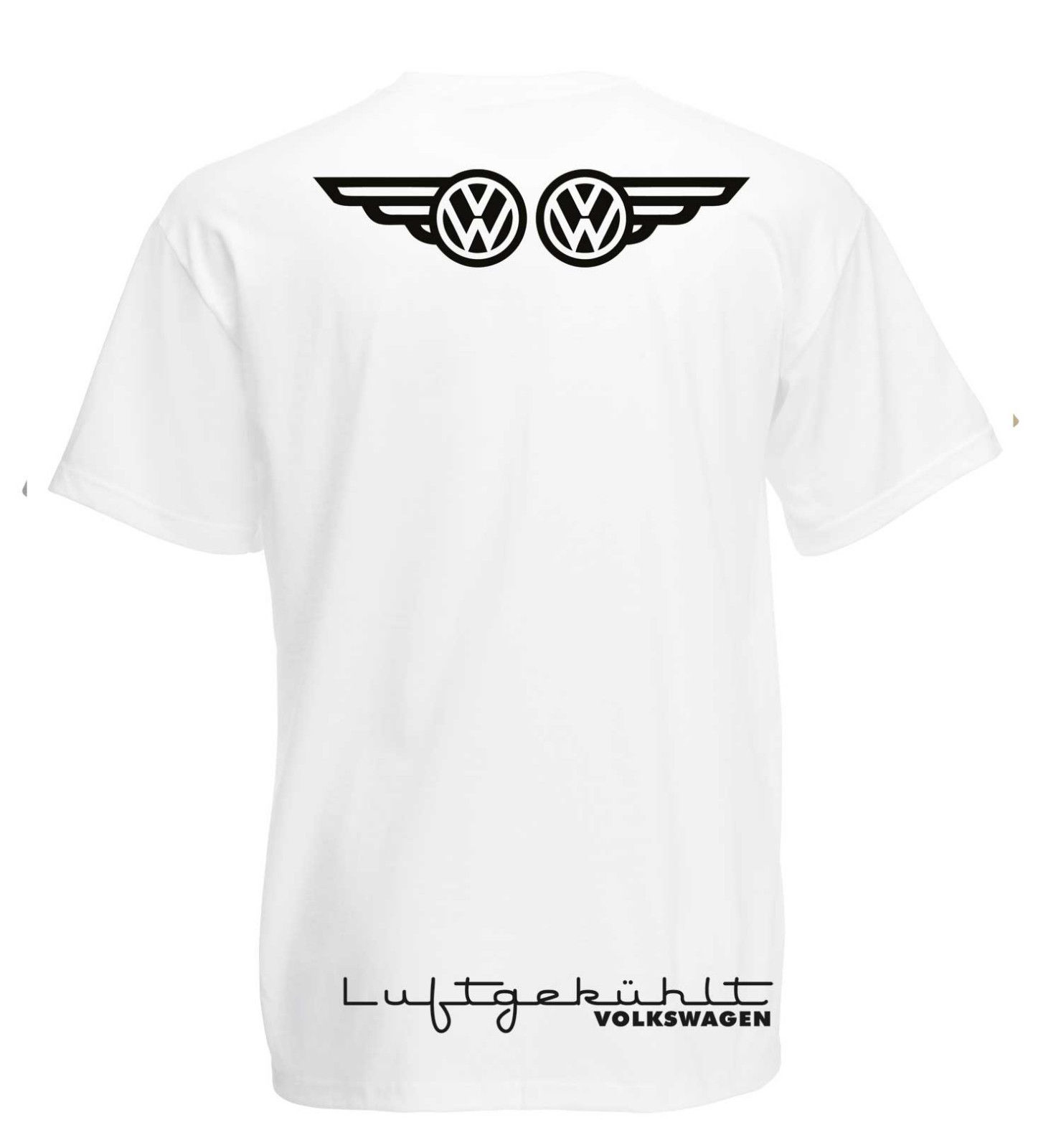 Vw Volkswagen Camper Wings Graphic High Quality T Shirt