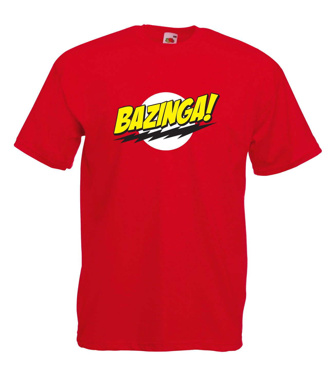 The Big Bang Theory Inspired Bazinga Sheldon Cooper