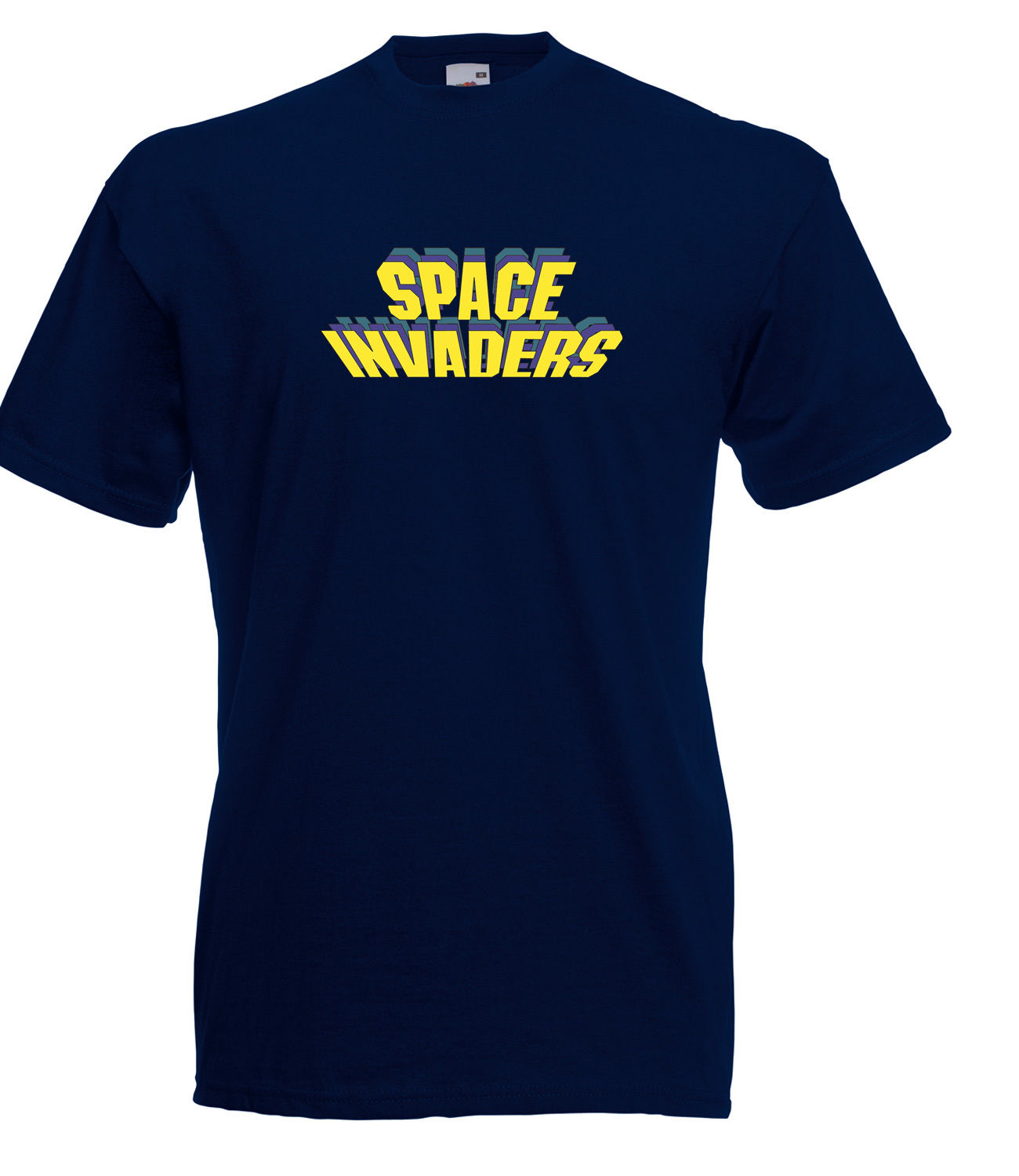 SPACE-INVADERS-INSPIRED-STYLE-LOGO-GRAPHIC-HIGH-QUALITY-100-COTTON-T-SHIRT