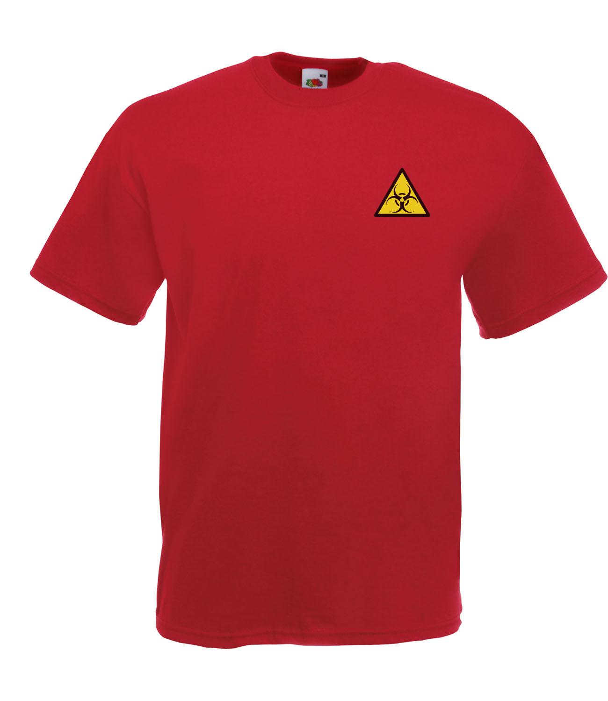 Biohazard Symbol Logo Graphic High Quality 100 Cotton