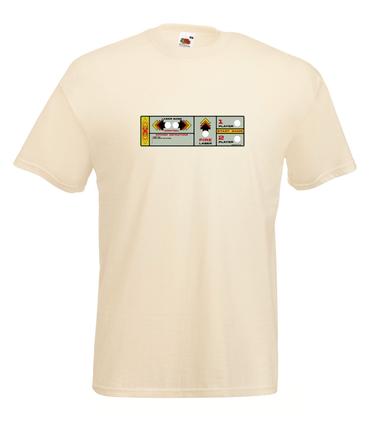 RETRO-SPACE-INVADERS-GAME-CONTROL-PANEL-INSPIRED-GRAPHIC-HIGH-QUALITY-T-SHIRT